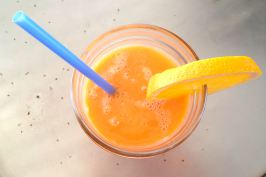 Vitamin C Boost {Orange Carrot Juice Smoothie}